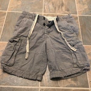 Men's heavy weight Abercrombie cargo shorts